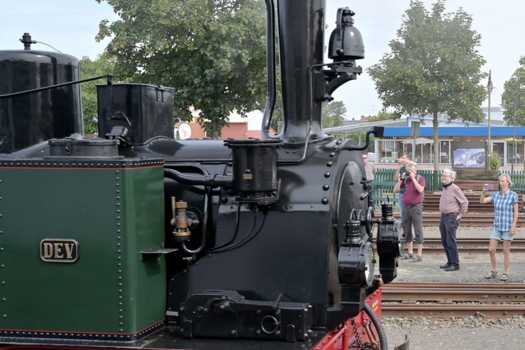 Tag des Eisenbahnfreundes bei der Museumsbahn Bruchhausen-Vilsen.